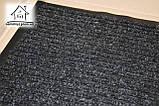 Коврик в прихожую на резиновой основе Полоса К102 73*43 см (черный), фото 2