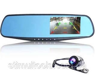 Відеореєстратор - дзеркало з двома камерами Full HD L 706