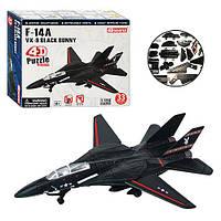 Пазлы 4D 26210   Самолет F-14A VX-9, 1:150, 33 дет, в кор-ке, 16-13-4,5см