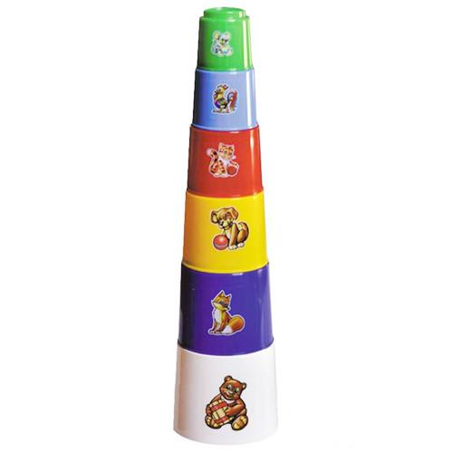 Игрушка пирамидка