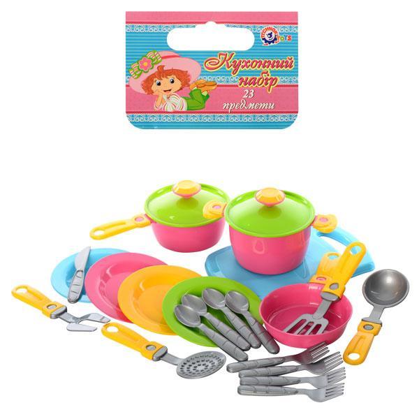 Детский набор посуды 1677