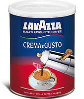Кофе молотый Lavazza Crema e Gusto в жестяной банке 250  г.