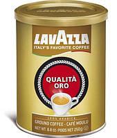Кофе молотый Lavazza Qualita Oro в жестяной банке 250 г.