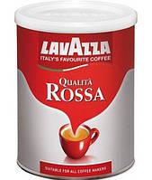 Кофе молотый Lavazza Qualita Rossa в жестяной банке 250 г.