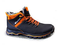 Ботинки  мужские  зимние кожаные К2