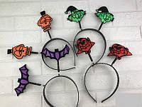 Обруч-рожки Хеллоуин  только по 12 штук