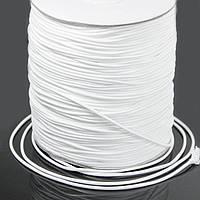 Шнур Вощеный Полиэстер, подходит для плетения браслетов, Цвет: Белый, Размер: Толщина 1.2мм, около 165м/катушка (УТ100009677)