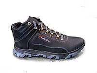 Ботинки  мужские  зимние кожаные К23