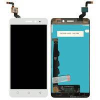 Дисплей (екран) для Lenovo K6 K33a48 з сенсором (тачскріном) білий, фото 2