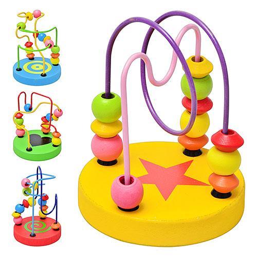 Деревянная игрушка Лабиринт на проволоке MD 0489
