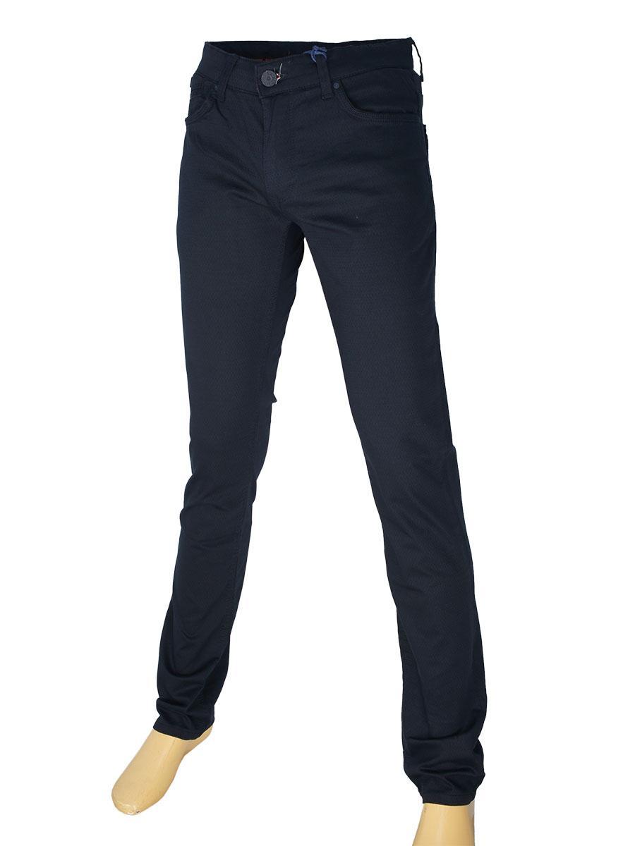 Чоловічі джинси X-Foot 261-7044 темно-синього кольору
