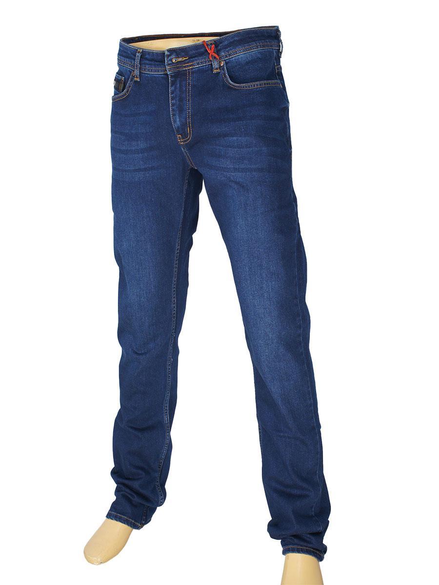 Чоловічі джинси X-Foot 140-2269 в синьому кольорі