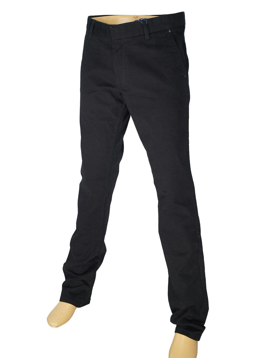 Чоловічі джинси X-Foot 180-7056 в чорному кольорі