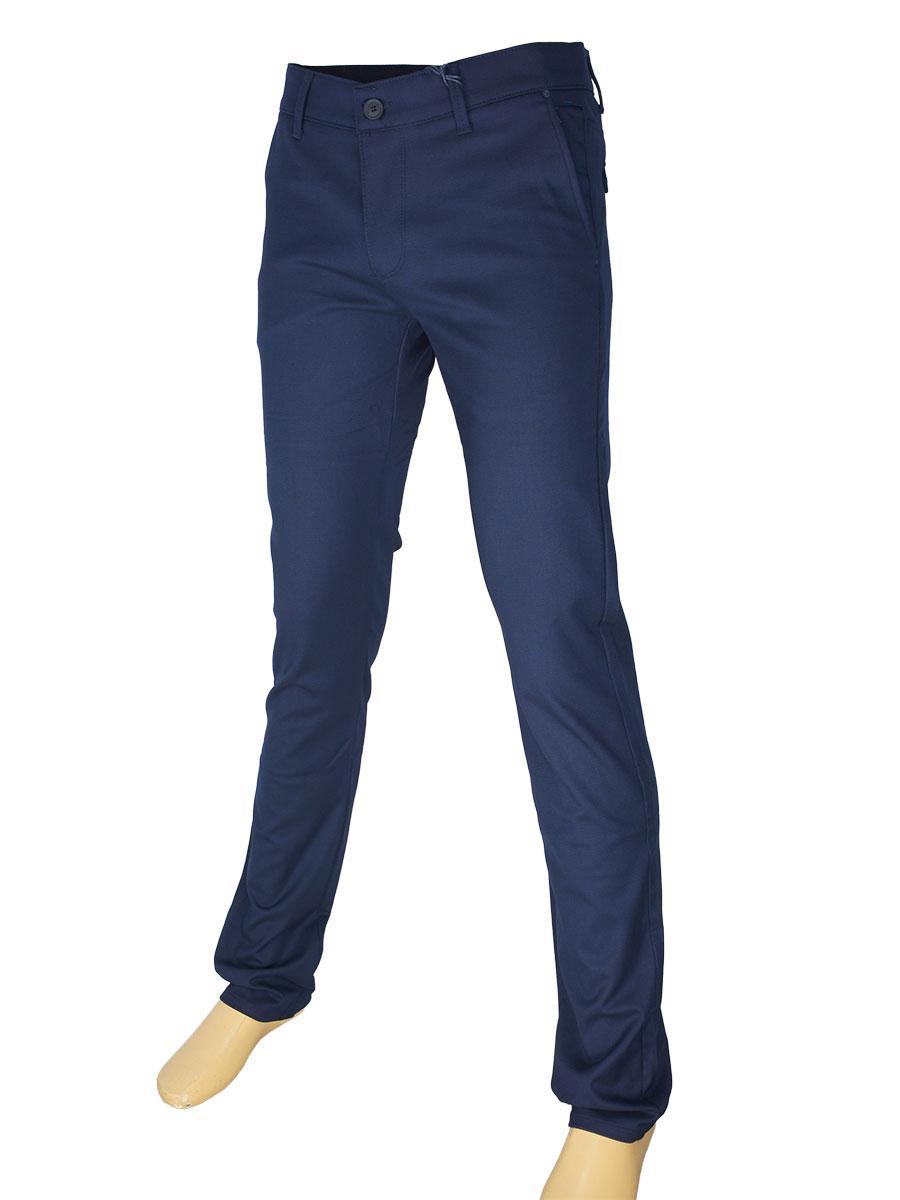Брючні чоловічі джинси X-Foot 170-3270 темно-синього кольору