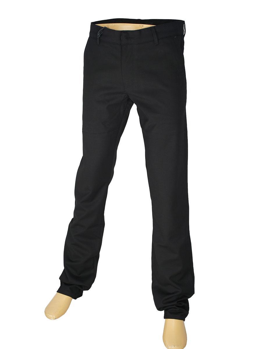 Чоловічі брючні джинси X-Foot 180-3274 чорного кольору