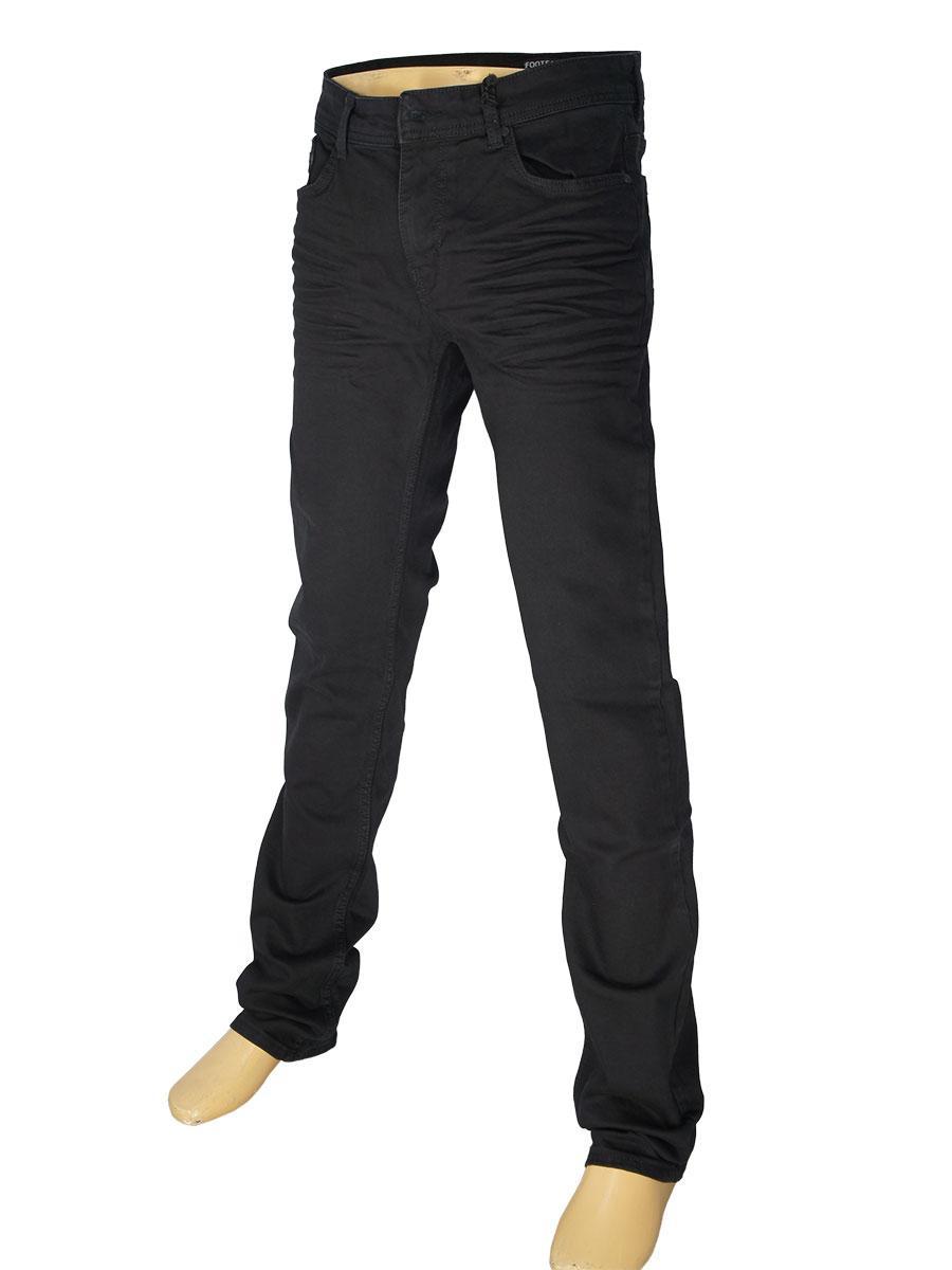 Чоловічі джинси X-Foot 140-2276 чорного кольору
