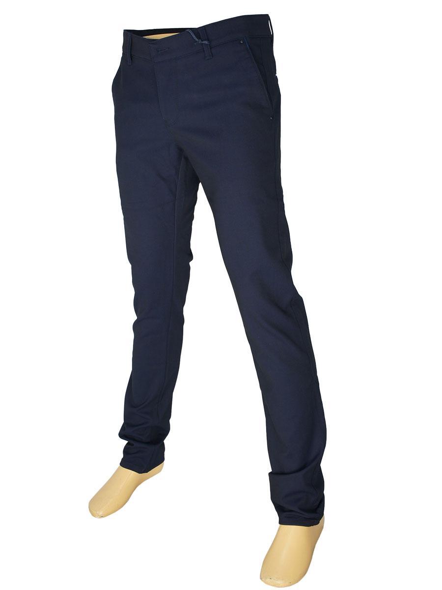 Темно-сині чоловічі джинси X-Foot 171-3283