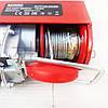 Тельфер электрический 300/600 кг 12/6 м Bavaria TP 105, лебёдка электрическая канатная электроталь, фото 3
