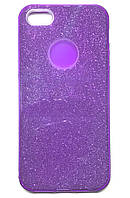 Накладка Shine Silicon Case iPhone 5/5s/SE Фиолетовый