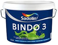Краска для стен BINDO 3  BW (5л.)