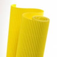 Картон гофрированный 270g/m2  50х70 см. желтый
