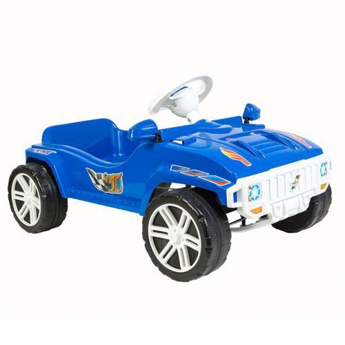 Машинка для катания ПЕДАЛЬНАЯ синяя ОРИОН 792