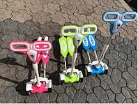 Самокат детский безшумный четырёх колёсный хорошего качества розвивающий моторику у ребенка