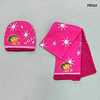 Теплый набор Dora для девочки. 42-46 см