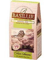 Листовой чай зеленый Весенний картонная упаковка 100 г.