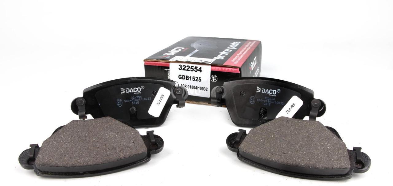 Колодки тормозные зад Renault Kangoo 4x4 01- (Bosch)
