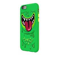3D чехол  для iPhone 6/6s SwitchEasy Monsters  зеленый, фото 1