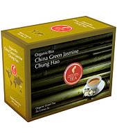 Пакетированный органический зеленый чай Julius Meinl Жасмин Чунг Хао 20 шт.