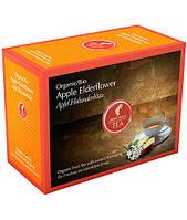 Пакетированный органический фруктовый чай Julius Meinl Яблуко-бузина 20 шт.