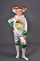Детский костюм гриб Боровик 3-9 лет на праздник Осени. Карнавальный маскарадный костюм для мальчиков и девочек