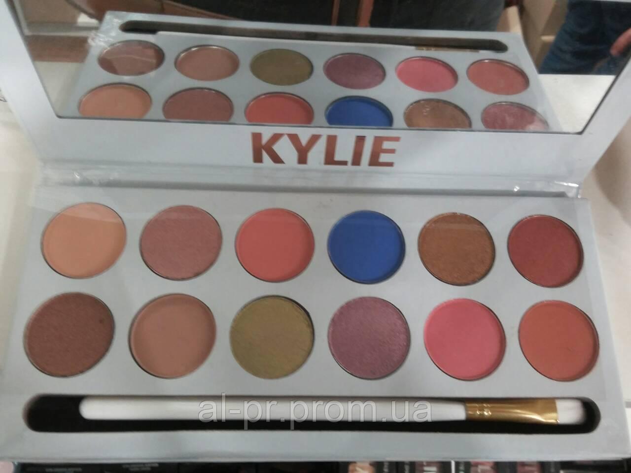 Тени для век Kylie 12 цветов