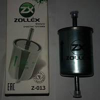 Фильтр топливный ZOLLEX под шланг  на авто ZAZ Таврия, Daewoo, Opel : Omega,Volkswagen(инжекторный).