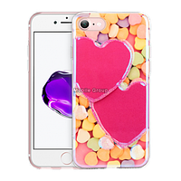 Чехол-накладка Remax Light Series for iPhone 6 Candy Hearts, фото 1