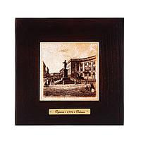 """Картина Одесса 1794 """"Памятник Дюку де Ришелье"""" (18x18) см"""