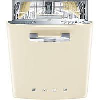 Встраиваемая посудомоечная машина, стиль 50-х годов, Smeg ST2FABCR кремовая, фото 1