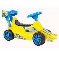 Машинка для катання СУПЕР СПОРТ лимонна 894