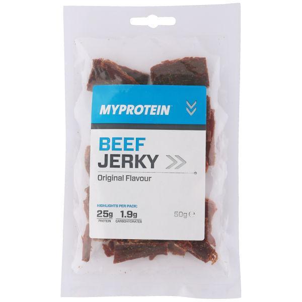 Beef Jerky MyProtein 50 g (в'ялена яловичина)