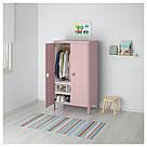 БУСУНГЕ Шкаф платяной, розовый, 802.290.08, фото 2