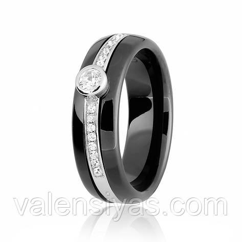 Серебряное кольцо К2ФК/1000, фото 2