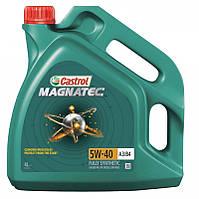 Моторное масло CASTROL Magnatec 5W-40 А3/В4, 4 литры