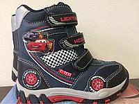 Ботинки, сапожки зимние DELtex с мембраной C-TEXI, серия Disney PIXAR - Cars, р. 26