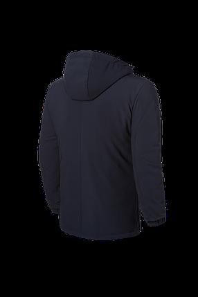 "Черная мужская зимняя куртка с капюшоном Braggart ""Black Diamond""  (р. 46-54) арт. 4752 F, фото 2"