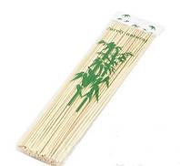Шпажки бамбуковые длинные 2,5 х 300 мм, упаковка 200 шт.