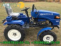 Мототрактор Garden Scout T15 (15 л.с, +фреза +гидравлика +блок. дифференциала)
