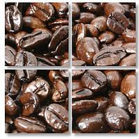Модульная картина 3д кофейные зерна