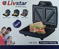Бутербродница LivStar LSU-1212, 800W